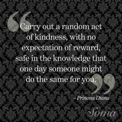 ry out a random act 