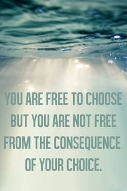 ARE FREE TO CHOOSE