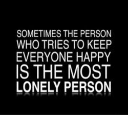 SOMETIMES THE PERSON 
