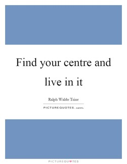 Find your centre and 