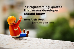 7 Programming Quotes 