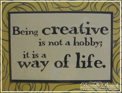 Being creaGve 