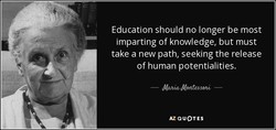 Education should no longer be most 