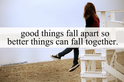 good things fall apart so 