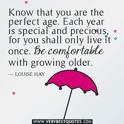 Know that you are the 