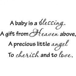 A baby is a 