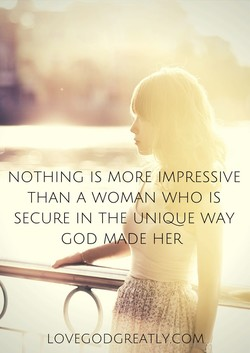NOTHING IS MO IMPRESSIVE 