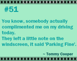You know, somebody actually 