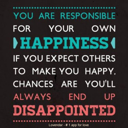 YOU ARE RESPONSIBLE 