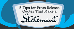 5 Tips for Press Release 