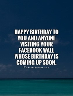 BIRTHDAY TO