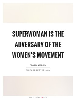 SUPERWOMAN IS THE 