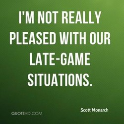I'M NOT REALLY 