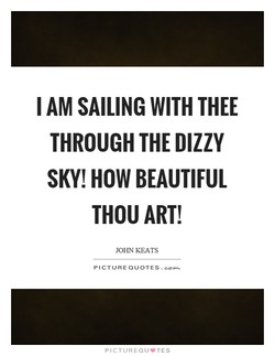 I AM SAILING WITH THEE 