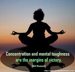 Concentration and mental toughness