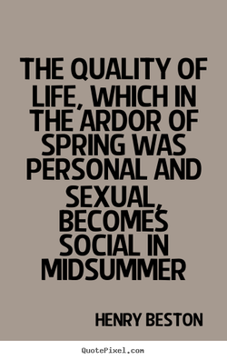 THE QUALITY OF 