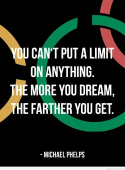 U CAN'T PUT A LIMIT 