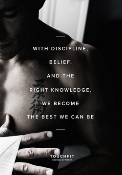 WITH DISCIPLINE, 