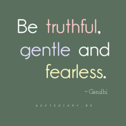 Be truthful, 