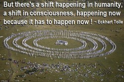But there'sa shift happening imhumanity, 