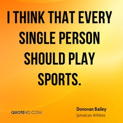 I THINK THAT EVERY 