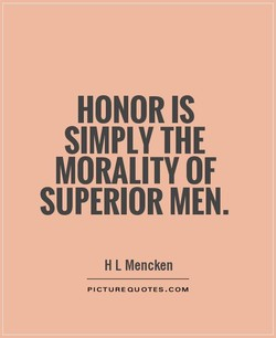HONOR IS 