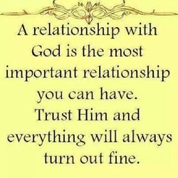 A relationship with 
