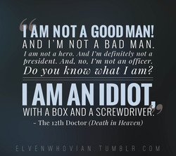 I AM NOT A GOODMAN! 