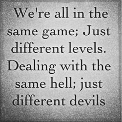 We're all in the 