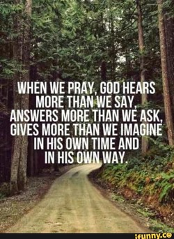 WHEN WE PRAY, S 