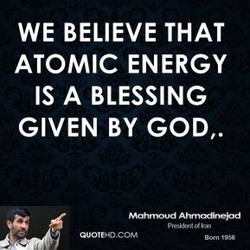 WE BELIEVE THAT 