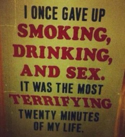 I ONCE GAVE UP 
