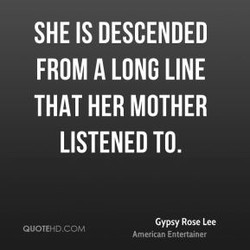 SHE IS DESCENDED 