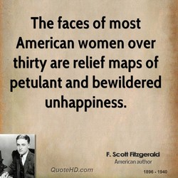 The faces of most 