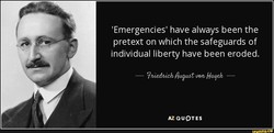 'Emergencies' have always been the 