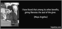 I have found that among its other benefits, 