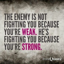 THE ENEMY IS NOT 