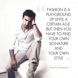 FASHION IS A 