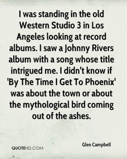 I was standing in the old 