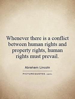 Whenever there is a conflict 