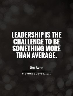 LEADERSHIP IS THE 