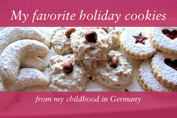 My favorite holiday cookies 