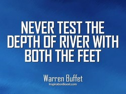 NEVER TEST THE