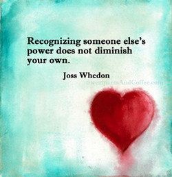 Recognizing someone else's 