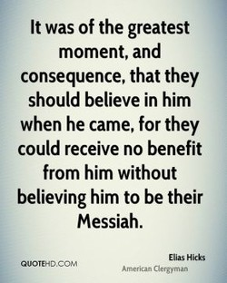 It was of the greatest
