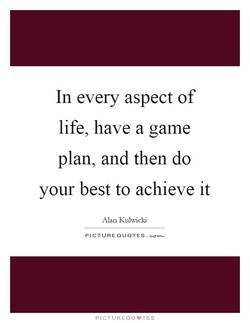 In every aspect of 