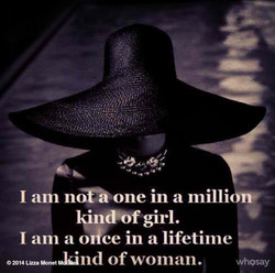 I am nofå one in a millionv 
