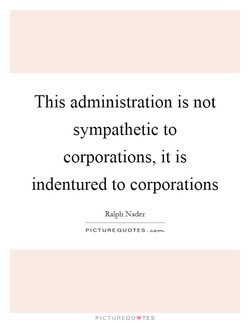This administration is not 