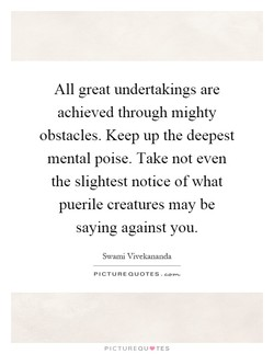 All great undertakings are 