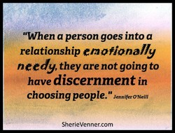 'When a person goes into a 